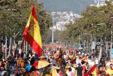 Decenas de miles de personas acuden a la marcha constitucionalista para decir «basta» al «proceso»