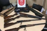 Detenido un joven por elaboración de droga, robo, posesión de armas y explosivos en Pamplona