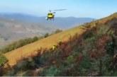 Rescatada una excursionista herida en Goizueta