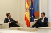Proceso: Sánchez no descarta «ningún escenario» para actuar en Cataluña, tras la reunión con Casado