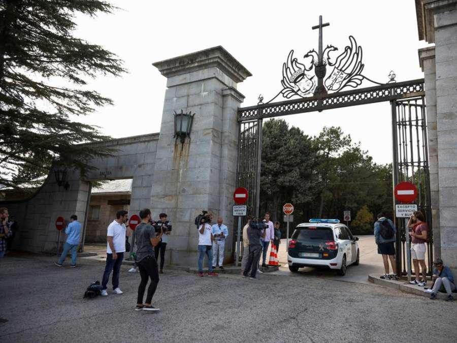 El 21 y el 22 de octubre, fechas más probables para la exhumación de Franco
