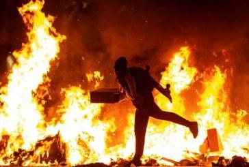 Proceso separatista: 97 detenidos y 194 policías heridos durante los disturbios en Cataluña