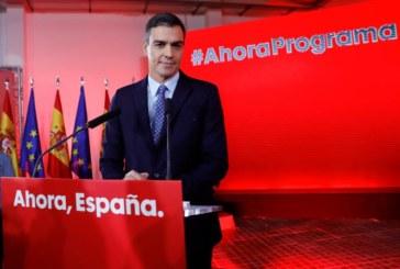 10N: Sánchez promete un plan contra el bloqueo y que haya gobierno en diciembre