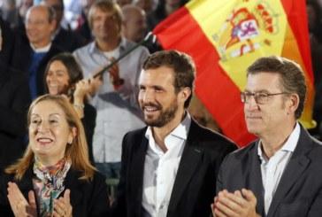 10N: Casado asegura que el PP tiene las «mismas opciones» de gobernar que Sánchez