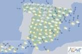 El tiempo para hoy martes en España