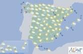 El tiempo hoy martes en España
