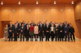 S. M. el Rey celebra una audiencia con los miembros del think tank Institución Futuro