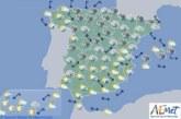 El tiempo para hoy miércoles en España
