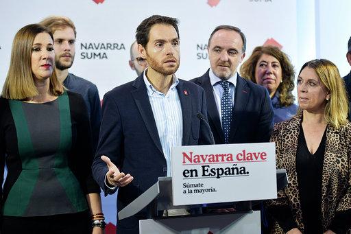 Navarra Suma: «Votar al PSOE es votar nacionalismo»