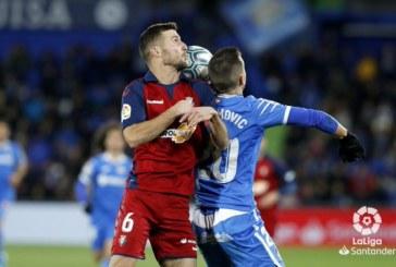 0-0. El Getafe choca contra el muro Herrera