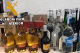 Incautadas 87 botellas de bebidas alcohólicas y comida sin control sanitario