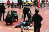 Policías y Ejército participan en un simulacro de atentado terrorista