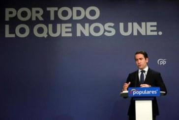 El PP cree que Sánchez debería pensar en marcharse si se confirman encuestas