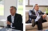 Ana Botín reafirma con Macri y Fernández su compromiso con Argentina