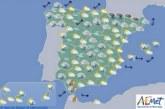 El tiempo en España para hoy jueves