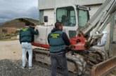 Recuperada excavadora de 60.000 euros robada en Puente la Reina (Navarra)