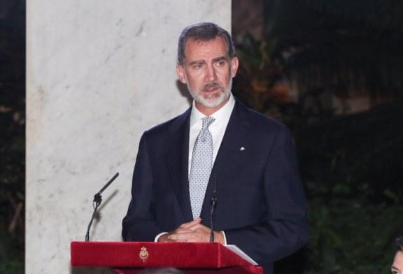 Felipe VI defiende ante Díaz-Canel los derechos humanos y la democracia