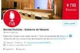 El Gobierno de Chivite mantiene la prioridad del «euskera» frente al español en las redes sociales