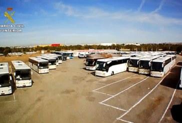 Detenido en Toledo por adquirir autobuses con «renting» para el transporte de pasajeros