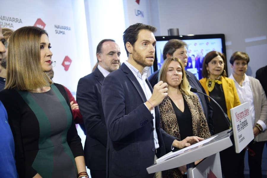 Los candidatos navarros inciden en lo que está en juego el 10N en el cierre de la campaña