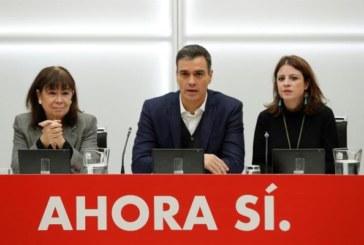 Sánchez quiere la investidura sin contar con el PP ni con el independentismo