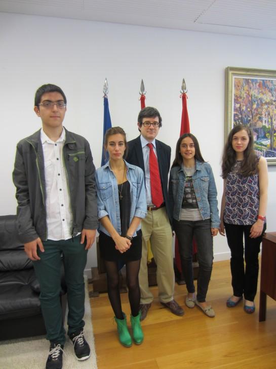 Cuatro estudiantes navarros optan a los 15 premios nacionales de Bachillerato