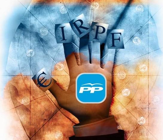 Los 'barones' del PP divididos por la bajada del IRPF