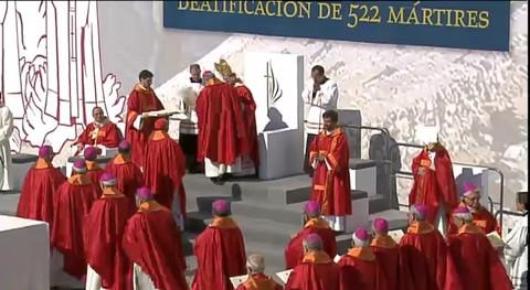 La Iglesia católica beatifica a 522 mártires de la Guerra Civil