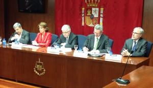 """Alberto Ruíz Galladdón en Navarra en la conferencia sobre la """"financiación de la justicia"""""""