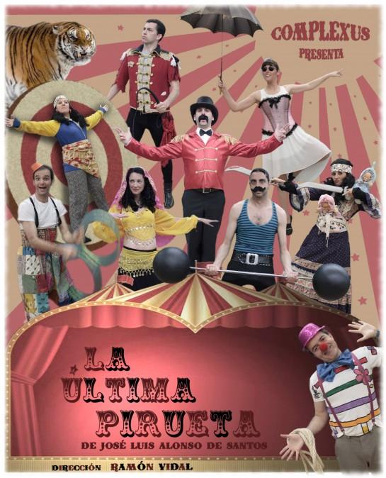 Mañana jueves, tragicomedia 'La última pirueta' en Civivox Mendillorri