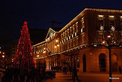 La próxima semana comienza la iluminación de Navidad en Pamplona