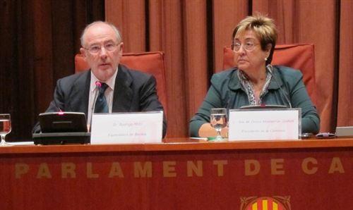 Anticorrupción se opone al embargo de bienes a Rato y 31 consejeros más