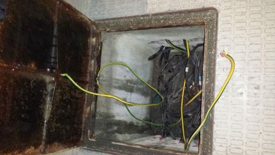 La Policía Municipal detiene a una persona por el presunto robo de cable de cobre del alumbrado público de Pamplona