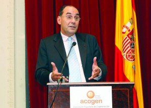 Alejo Vidal-Quadras durante su intervención en la Asamble Anual de ACOGEN