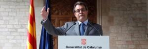 ¡Dejadnos votar!, Artur Mas reivindica el secesionismo en Europa
