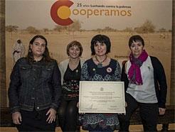 El colegio público Buztintxuri, recibe el V Premio Nacional Vicente Ferrer