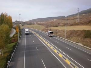 El lunes por la mañana se cortará al tráfico la Ronda de Pamplona entre las rotondas de Arre y Oricáin