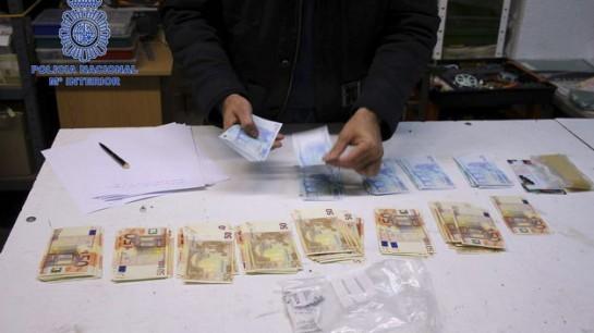 Detenido el mayor falsificador de billetes de España