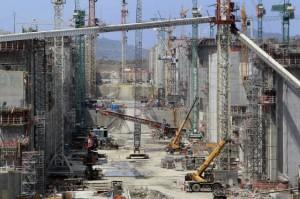 Se reanudan las obras en el Canal de Panamá