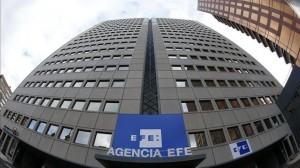 Los príncipes presiden la inauguración de la nueva sede de la Agencia EFE en su 75 aniversario