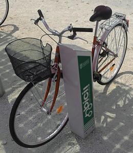 Aumentan un 7% los usuarios de alquiler de bicis municipal en Pamplona