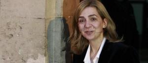 Infanta Cristina a la salida de los juzgados de Palma.