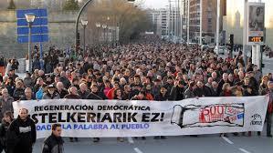 EDITORIAL: Otra vez en la calle pidiendo elecciones en Navarra