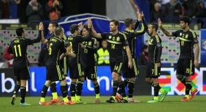Pedro desatascó el dominio de España ante Italia (1-0)