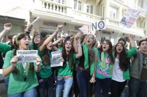 El Sindicato de estudiantes convoca una huelga de 48 horas en Secundaria y la Universidad