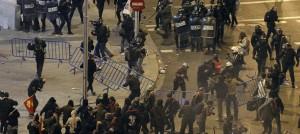 Prisión provisional para un detenido en Madrid el 22-M por intento de homicidio contra un policía