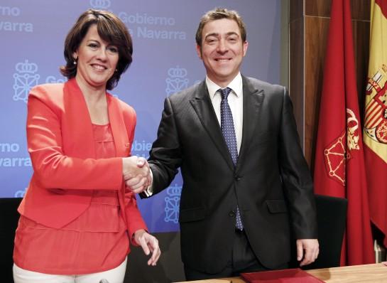 La ejecutiva del PSN, sin Bildu, pero por unanimidad sí a la moción de censura
