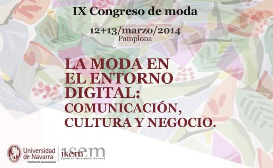 12 y 13 marzo: IX Congreso Internacional de Moda en la Facultad de Comunicación de la UN