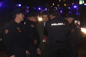 La policía actuará con toda firmeza contra la violencia en las calles