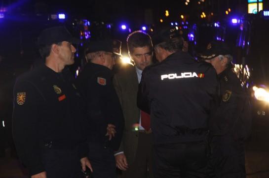 Interior niega fallos humanos en el 22-M pero destituye al jefe de los antidisturbios de Madrid